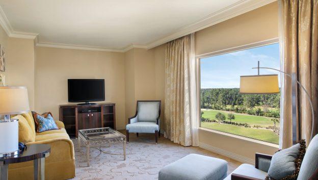 Waldorf Suite Living Area ...