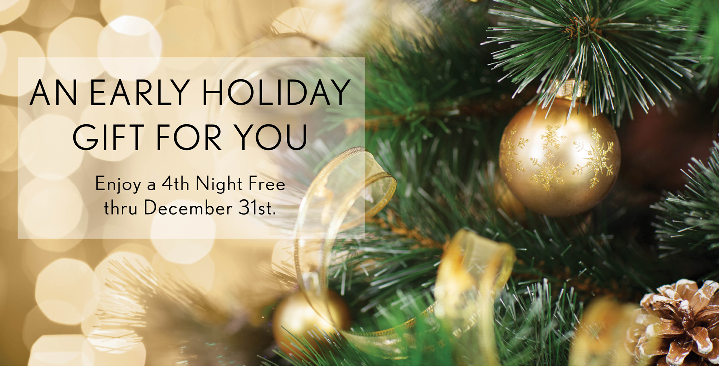 4th Night Free When You Book Another Day In Paradise for a Limited Time
