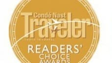 Condé Nast 2017 Readers' Choice Award