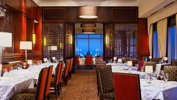 Resultado de imagen para bull & bear steakhouse at waldorf astoria orlando