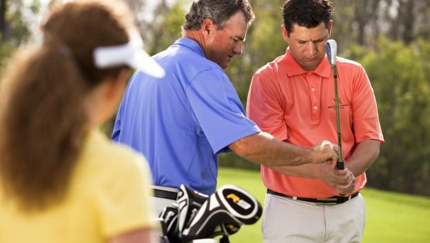 pro teaching golfers