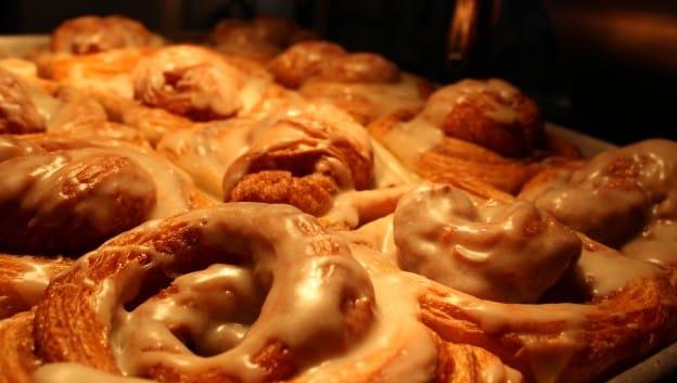 Muse cinnamon buns
