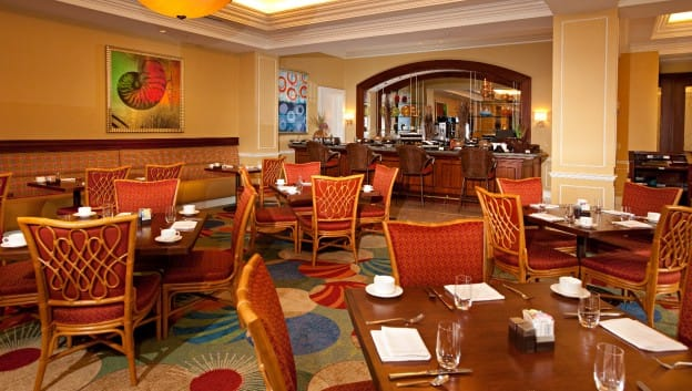Oscar's restaurant interior