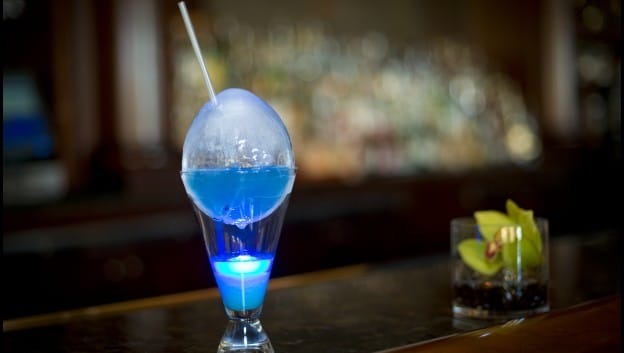Peacock Egg - a signature cocktail