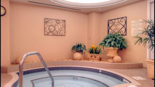 jacuzzi and steam room