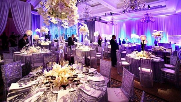 Personalized Wedding Cake Ballroom At Waldorf Astoria Orlando Outdoor Venues