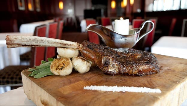 signature tomahawk steak