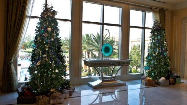 Holiday Lobby Christmas Tree