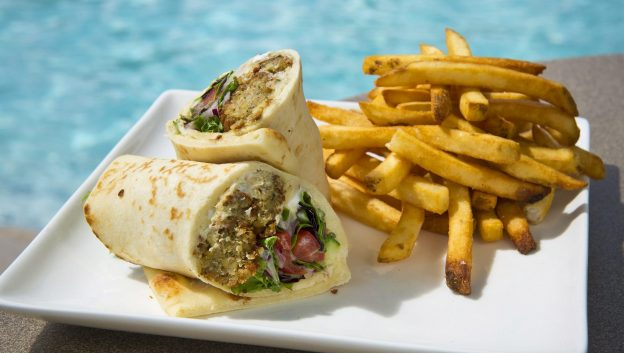 Beech Falafel Wrap