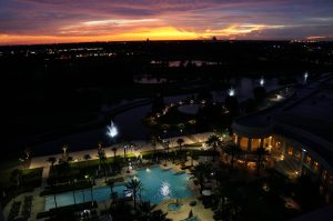 Waldorf Astoria Orlando at Sunset