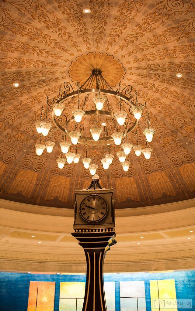 Waldorf Astoria Orlando lobby clock