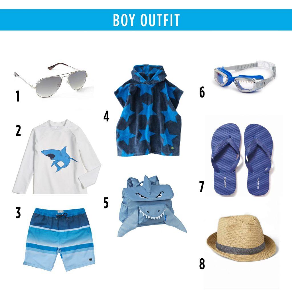 Boy's Swim apparel