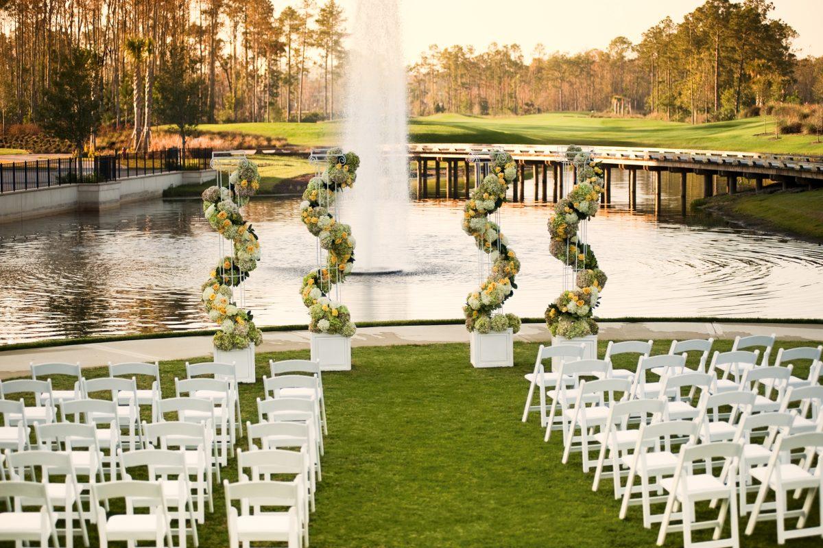 Wedding venues reception halls waldorf astoria orlando signature island waldorf wedding junglespirit Choice Image