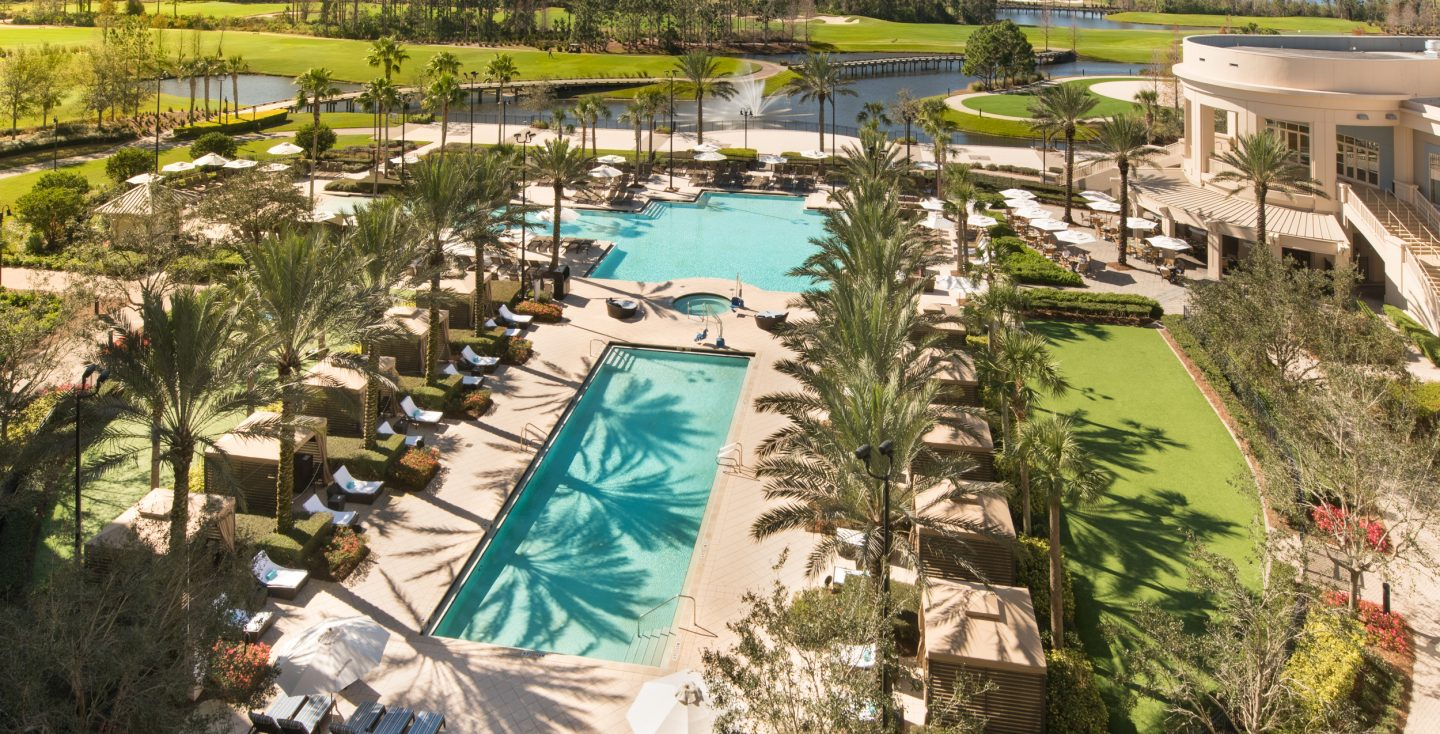 Luxury Hotel In Orlando With Pools And Private Cabanas