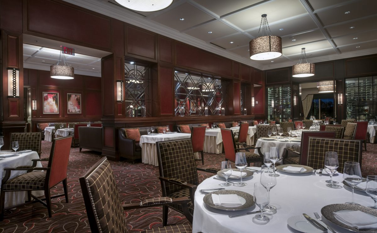 Orlando restaurants lounges waldorf astoria orlando dining for Best private dining rooms orlando