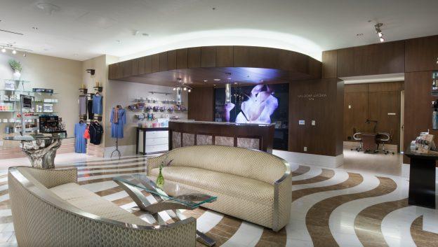 Waldorf Astoria Spa reception and lobby