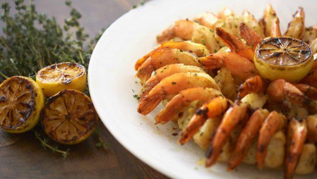shrimp display